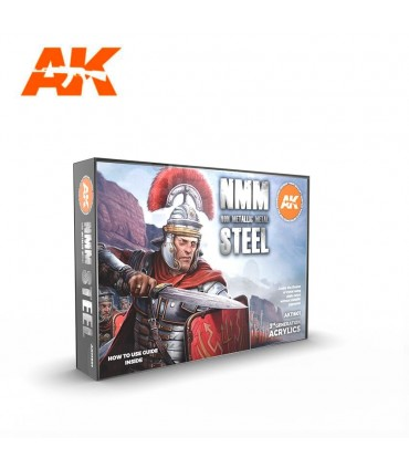 Set AK Metal No Metálico Acero 6u. AK11601