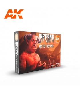 Set AK Inferno and Red Creatures 6u. AK11604