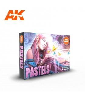 Set AK Pastels Colors 6u. AK11607