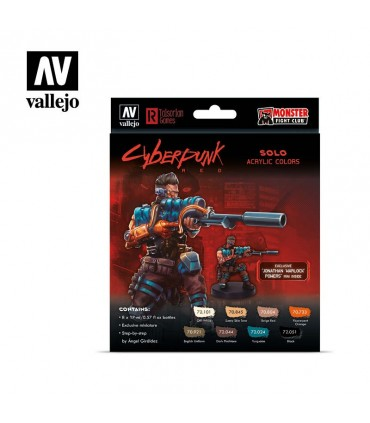 Set Cyberpunk Red Solo Vallejo 8 u. 72309