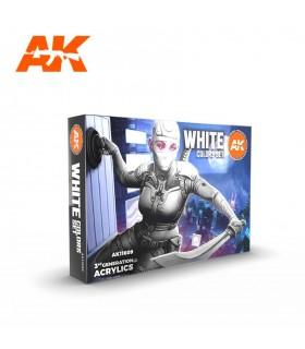 Set AK Colores Blancos 6u. AK11609