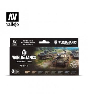 Set pinturas World of Tanks Vallejo 70245
