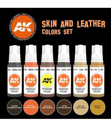 Set AK Skin and Laether Colors 6u. AK11613