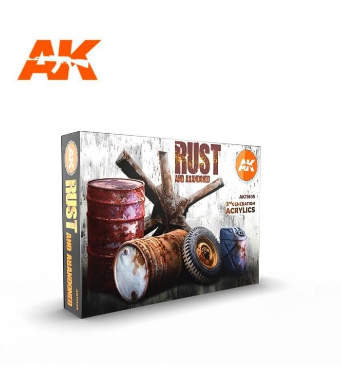 Set AK Óxidos 6u. AK11605