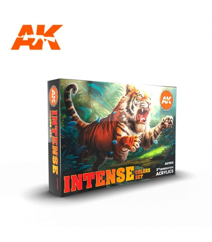 Set AK Colores Intensos 6u. AK11612
