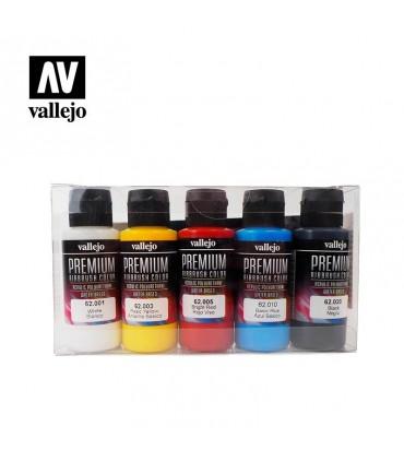 Set Premium opaco Vallejo 5 colores