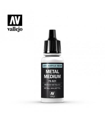 70521 Medium metalico Vallejo 16ml