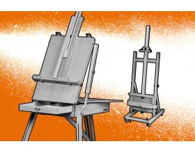 Cavaletes de pintor