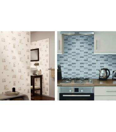 Papel de Parede Cozinha e Banheiro