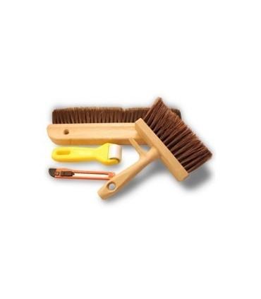 Glues and wallpaper tools
