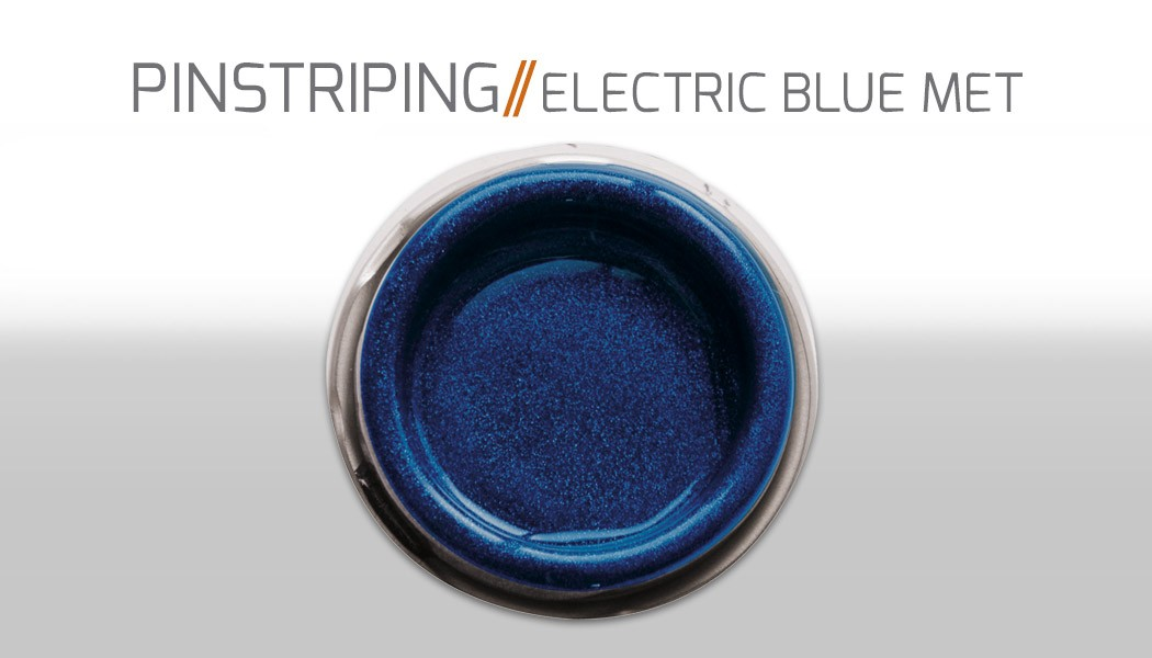 electric blue metallic
